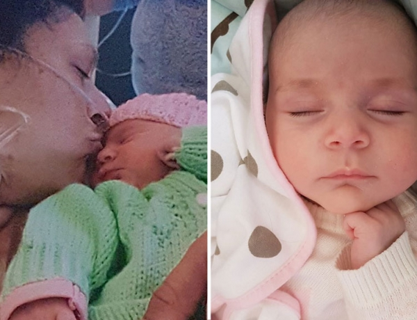 Leanne cheated death three times before her baby was born – Nine.com.au