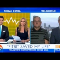 Fitbit saves Grandfather – Today Extra Channel 9